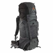 MPG Alpine 3600 60L Internal Frame Hiking Backpack Scout Backpack Slate Gray