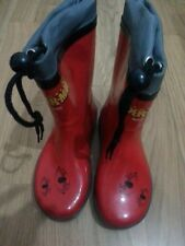 lotto 734 scarpe calosce bimbo spiderman n. 26-27