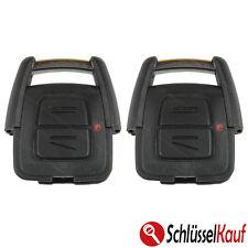 2 Stück OPEL 2 Tasten Autoschlüssel Gehäuse Astra Meriva Corsa Omega Zafira Neu