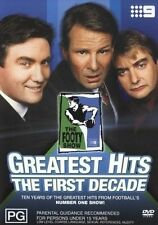 THE FOOTY SHOW GREATEST HITS THE FIRST DECADE (region 0 = All Regions)
