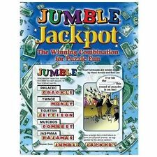 Jumble Jackpot: The Winning Combination for Puzzle Fun (Paperback or Softback)