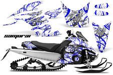 Yamaha FX Nytro 08-14 Graphics Kit CreatorX Snowmobile Sled Decals SAMURAI BLW