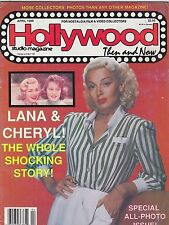 APRIL 1988 HOLLYWOOD STUDIO vintage movie magazine - LANA TURNER