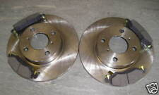 SUZUKI WAGON R FRONT BRAKE DISCS AND PADS (Non Abs) 2000-2007 NEXT DAY DELIVERY