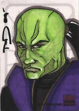 Star Wars Galaxy Series 5 Sketch Card by Tod Allen Smith of XIZOR
