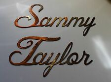 """Personalized custom Name in Cursive Style Up to 12 letters 7 """" tall"""