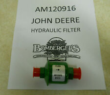 John Deere In Line Hydraulic Filter Fits 320, F series front mounts.  AM120916