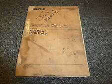 Caterpillar Cat 3208 Diesel Truck Engine Shop Service Repair Manual 32Y 51Z