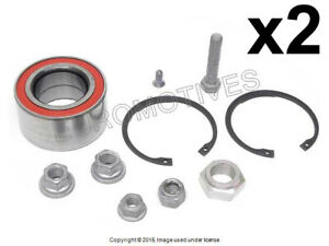 VW (88-02) Wheel Bearing Kit Front L+R (x2) OEM Fag