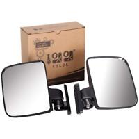 Golf Cart Mirrors Side Rear View Fits Club Car Ezgo Yamaha US STOCK