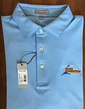 Peter Millar Finish Line Youth Foundation E4 Per4mance Element Polo Shirt Size L
