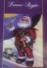 Duncan Royale Santa Pipe and Horn Santa Claus Coming to Town -Open Box/New Other