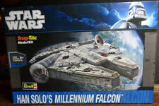 STAR WARS Han Solo's Millennium Falcon Revell 2010 Snap-Tite Model Kit 85-1854