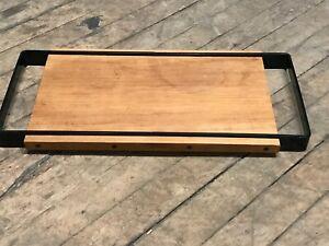 Mid Century Modern Sanka Yki Nummi Designed Wood and Molded Plastic Serving Tray
