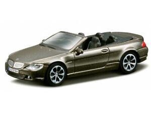 bburago 30118BR BMW 645 Ci Cabrio 2008 - Brown Metallic 1/43