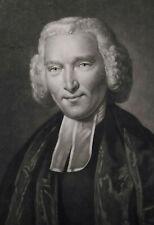 1775- Reverend WILLIAM ROMAINE - mezzotinto originale
