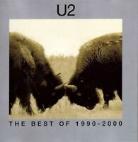 U2 the best of 1990-2000 & b sides (2X CD compilation) EX/EX 063 443-0 pop rock