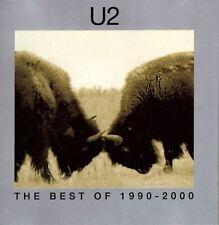 U2 the best of 1990-2000 & b sides (2X CD compilation) EX/EX 063 443-0 pop rock
