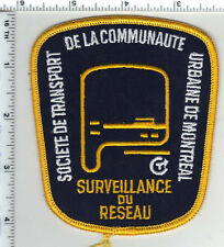 Urbaine de Montreal (Canada) Shoulder Patch - new from the 1980's