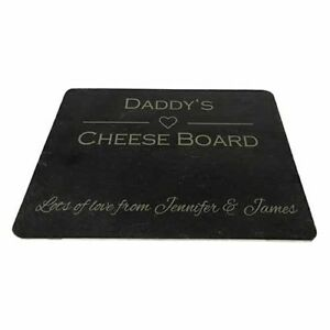Personalised Natural Slate Board - Design your own - 100% bespoke - Perfect Gift