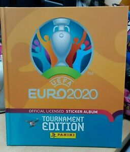 Panini UEFA Euro 2020 Tournament Edition Hard Cover Official Sticker Album