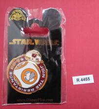 STAR WARS PINS - DISNEY - COLLECTOR - ORIGINAL PIN'S - BB 8 RESISTANCE - R 4455
