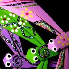 FR 200 + 10 GRATUITES Liloubee Libellule Bambou Jouet Jeu Fait Main Artisanat