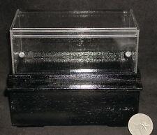 Dollhouse Miniature Pastry Bakery Black Display Case 1:12 #SC36 DAMAGED ACRYLIC