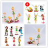 Tinkerbell PVC Figure Fairy Princess Birthday Cake Toppers Secret Gift Doll Toy