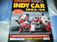 AUTOCOURSE INDY CAR 1993 1994 Nigel Mansell Paul Newman Hass Indianapolis 500