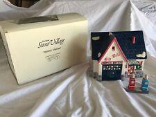 Dept 56 Snow Village 'Service Station' 2 Pc Set #5128-4 Retired In Original Box