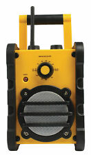 Garden Workshop Site Radio AUX FM Radio Work robust portable Audio Hi-Fi Modern