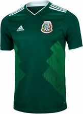 Authentic adidas Mexico 2018 World Cup Green Home Men's Soccer Jersey Bq4701 L