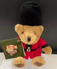 Harrods Knightsbridge London British Royal Soldier Teddy Bear Collectible W/Tag