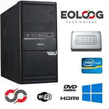 PC DESKTOP COMPUTER FISSO INTEL CORE i5 RAM 8 GB SSD + HDD 500 WINDOWS 7 PRO