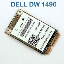 DELL WIRELESS DW 1490 802.11ABG MINI PCI-E CARD UK NEW
