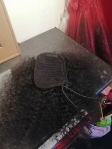 Afro kinky ponytail