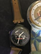 Vintage Swatch Watches 1987 and 1994