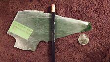CE - Ogden Mine Jade Slab, British Columbia - 4.6 oz.- 5.4 mm thick