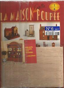 LA MAISON DE POUPEE - DELPRADO - N°06 - LA BIBLIOTHEQUE (1)