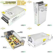 Letour Dc 12V Power Supply 40A 500W Ac 96V-240V Converter Dc 12Volt 40Amp 500Wat