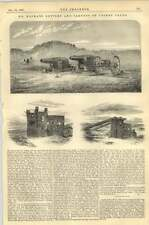 1867 Mr Mackay Battery And Targets On Crosby Sands