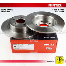 2X MINTEX REAR DISC BRAKES MDC2357 FOR FORD C-MAX II (GRAND) KA+ TOURNEO TRANSIT