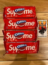 Supreme x Oreo Cookies - 4 Packs (12 Cookies) In Hand, FREE SHIPPING!