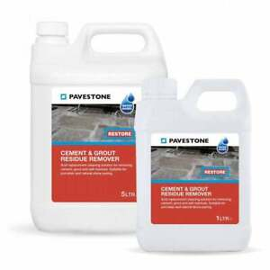 Pavestone Cement & Grout + Efflorescence & Mortar Residue Remover 1L-5L
