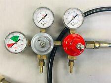 Taprite Co2 Beverage Dual Pressure Regulator 0-160 Psi Soda/Beer System w/Hose