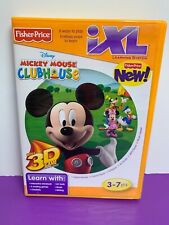 Fisher Price IXL Learning System Software Mickey Mouse Clubhouse CD-ROM Disney