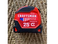 Craftsman 25 ft Magnetic Tape Measure CMHT37925 New