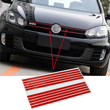 Red Grill Kidney Assembly Sticker Badge Decals For Golf 6 Folf 7 Tiguan S209