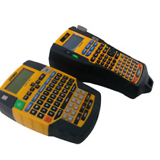 Dymo Rhino 4200 Amp 5200 Basic Industrial Handheld Label Maker Bundle Orange 04649